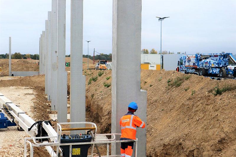 Eurobeton background produit beton batiment montage et transport