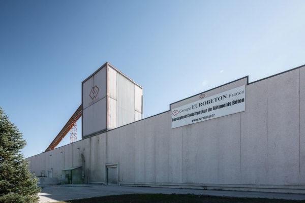 Logo Eurobeton France entreprise industrielle française construction fabrication beton