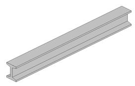 Eurobeton produit poutre béton inertie constante